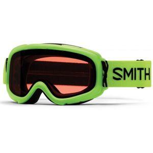 Smith GAMBLER zelená NS - Detské lyžiarske okuliare