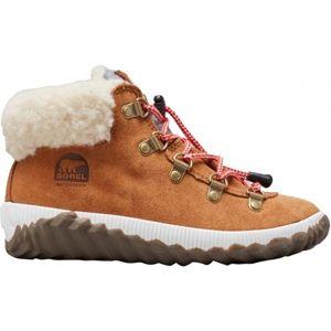 Sorel YOUTH OUT N ABOUT CONQUE hnedá 4.5 - Detská zimná obuv