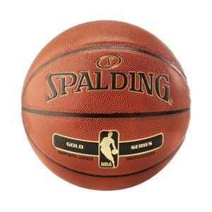 Spalding NBA Gold  5 - Basketbalová lopta