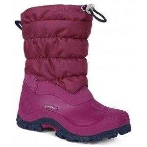 Spirale COLORADO ružová 31 - Detská zimná obuv