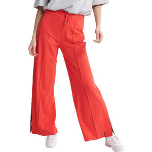 Superdry EDIT WIDE LEG JOGGER červená 8 - Dámske nohavice