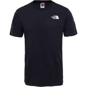 The North Face S/S SIMPLE DOME TE M čierna L - Pánske tričko