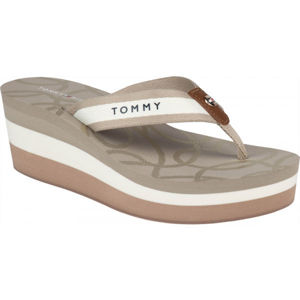 Tommy Hilfiger NAUTICAL HIGH WEDGE BEACH SANDAL  41 - Dámske žabky