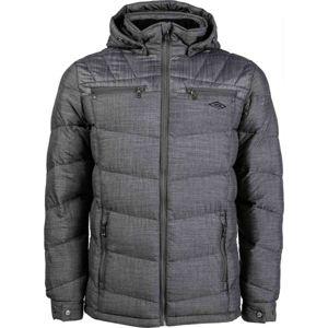 Umbro ARNES tmavo šedá XXL - Pánska prešívaná bunda