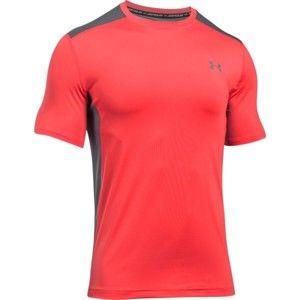 Under Armour RAID SS červená L - Pánske tričko
