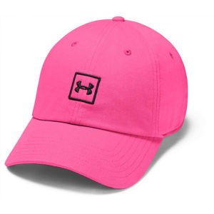 Under Armour WASHED COTTON CAP ružová UNI - Šiltovka