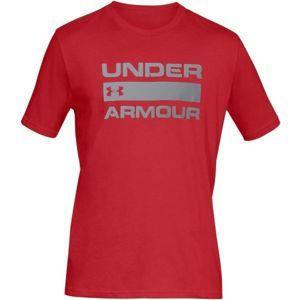 Under Armour TEAM ISSUE WORDMARK SS - Pánske tričko