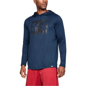 Under Armour LIGHTER LONGER PO HOODIE - Pánska mikina