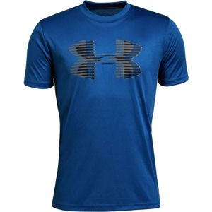 Under Armour TECH BIG LOGO SOLID TEE modrá XL - Chlapčenské tričko