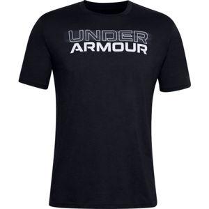 Under Armour BLURRY LOGO WORDMARK SS  XXL - Pánske tričko