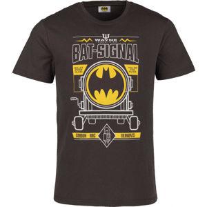 Warner Bros BTMN hnedá M - Pánske tričko