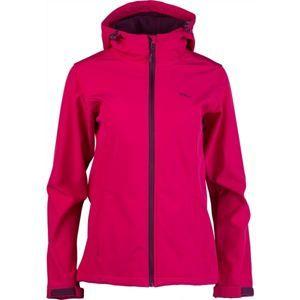 Willard AMBRAMA ružová XXL - Dámska softshellová bunda