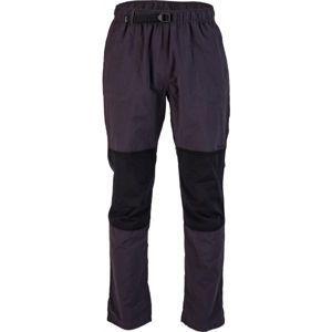 Willard ERNO tmavo šedá XL - Pánske plátené nohavice