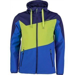 Willard SEB modrá L - Pánska softshellová bunda