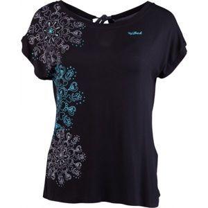 Willard ORCHID čierna S - Dámske tričko