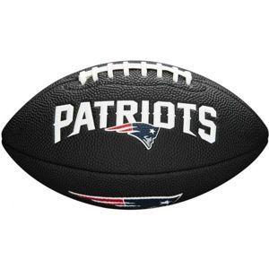 Wilson MINI NFL TEAM SOFT TOUCH FB BL NE - Mini lopta na americký futbal