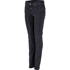 Wrangler SLIM BIKER BLACK - Dámske nohavice